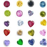 Buy cheap Heart Round Crystals Birthstones Charms for Floating Charm Living Locket,different sizes from wholesalers