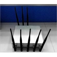 Buy cheap Professional GSM / WIFI Cell Phone Jammer Anti Gps Jammer With 8 Antennas from wholesalers