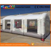 Buy cheap Outdoor Inflatable Spray Booth PVC Tarpaulin Inflatable Car Tent Digital Printing from wholesalers