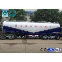 Buy cheap 58000L 3 Axle Large Capacity Cement Powder Trailer For Transportation from wholesalers