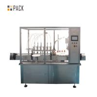 Buy cheap Peristaltic Pump Spray Bottle Filling Machine Chemical Industry Liquid Filling Line from wholesalers