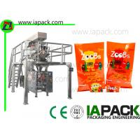 Buy cheap Peanuts Snacks Packaging Machine / Poly Packaging Machine 50Hz - 60Hz product