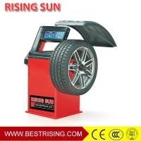 Buy cheap Car Workshop Equipment Semi Automatic 220V Wheel Balancer Machine with CE Certificate product