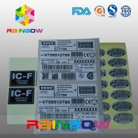 Buy cheap Customized Express Labels / Sticker Shrink Sleeve Labels For Bag , Box , Card from wholesalers