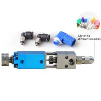 Buy cheap 20*20*150mm Small size drip proof glue dispensing valve for glue dispensing machine robots DHV-S from wholesalers