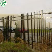 Buy cheap White aluminum fence metal fence panels from wholesalers