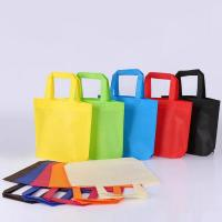 Buy cheap Multi Color Non Woven Printed Bags / Mini Personalized Non Woven Tote Bags from wholesalers
