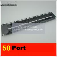 Buy cheap RJ11 50Ports Voice Patch Panel 110 UTP Patch Panel Cabinet Rack 50Port Patch Panel from wholesalers