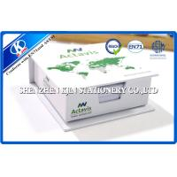 Buy cheap Paper Box Packing Green / White Cover Memo Sticky Notes , Sticky Block for Office from wholesalers