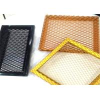 Buy cheap 1.2mm Thickness Multi Color Diamond hole type expanded metal wire mesh from wholesalers