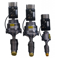 Buy cheap RJT Standard Clamp Connections CF8 Y Type Control Valve from wholesalers