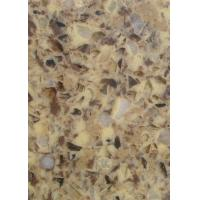 Buy cheap Micro - Crystal Stone Quartz Stone Slab Kitchen Top , Interior Quartz Kitchen Surfaces from wholesalers