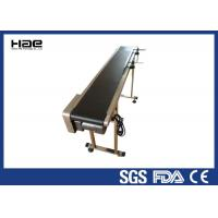 Buy cheap Black Conveyor Belt For Auto Parts , Length / Width Customized PVC Conveyor Belt from wholesalers