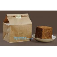 Buy cheap Heat seal pouch&kraft paper plastic bread packaging bag,Portable High Quality Craft Paper Bread Bags, BAGEASE PACKAGE from wholesalers