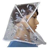 Buy cheap PE Rain Bonnet with Lovely Small Pets Pattern from wholesalers