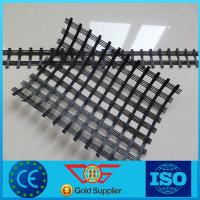 China High Strength of Polyester Geogrid on sale