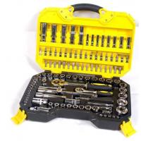 Buy cheap 108 Piece Socket Wrench Set Emergency Tool Kit , Car Repairing Gand Tool Set for Home from wholesalers