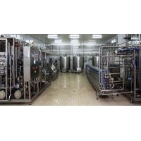 China Stainless Steel Drinking Eating Yogurt Production Line With Milk Collection Section on sale