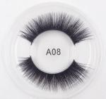 Buy cheap A08 3D Mink Hair Series False Eyelashes New Pair of Fashion Eyelashes Wholesale Thick Long Eyelashes from wholesalers