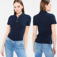 Buy cheap Wholesale Summer Fashion Polo shirt Women Clothing Tops With Button from wholesalers