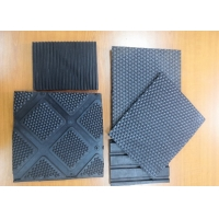 Buy cheap Rubber Stable Mat Alley Floor Horse Mat Comfort Roll Puzzle Honeycomb Bubble Mat from wholesalers