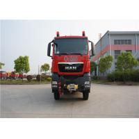 Road - Rail Convertible Fire Fighting Truck 2 Seats Elkhart Monitor Max Speed 90KM/H
