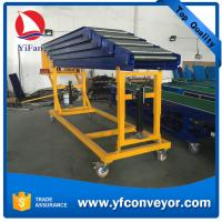 Buy cheap Telescopic Gravity Roller Conveyor for Unloading Containers from wholesalers