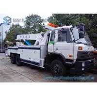 Buy cheap Power Dongfeng Independent 6X4 Road Wrecker Truck Cummins 260 Hp Engine from wholesalers