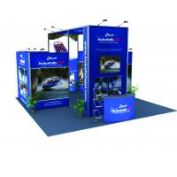 Buy cheap Tension Fabric Graphic Modular Trade Show Booth Portable Lightweight from wholesalers