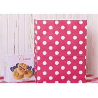 Buy cheap Red Dots Paper Packaging Bags with Handle Gift Bags 8x4.75x10.5 inch Shopping Bag product