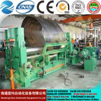 Buy cheap MCLW11STNC-120X3000  hydraulic CNC boiler dedicated roller Universal plate Rolling machine from wholesalers