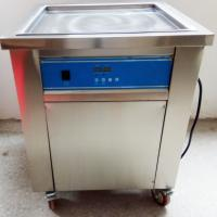 Buy cheap Durable Stainless Steel Ice Cream Roll Maker / Ice Cream Cold Plate Machine from wholesalers