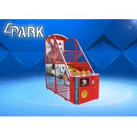 Buy cheap Fun Exercise Arcade Basketball Game Machine For Shopping Mall Easy To Move from wholesalers
