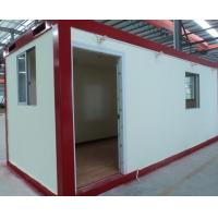 Buy cheap flat pack emergency house steel structure container shelter from wholesalers