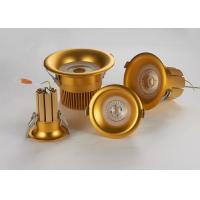 Buy cheap Cambered Surface Recessed LED Downlight With Pure Gold Thread Welding Solid Radiator from wholesalers