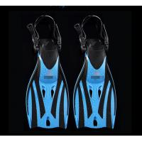 Buy cheap Junior Open Heel Diving Fins / Kids Snorkeling Scuba Fins Swimming from wholesalers