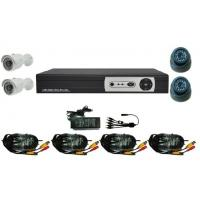 Buy cheap Video Security Cameras Kits 4CH DVR and Waterproof IR CCTV Bullet Cameras from wholesalers