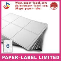 Buy cheap Label Dimensions: 105mm x 99mm A4 labels from wholesalers
