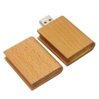 Buy cheap Durable Micro Windows 7 Wood USB Flash Drive 16G  32G  64G With Keychain product