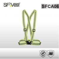 Buy cheap Security warning hi vis workwear reflective safety vest with heat transfer reflective tape product