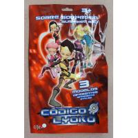 Buy cheap Red Printed Metalized Foil 3 Side Seal Bag for Toy , Gift , Cards , Present from wholesalers