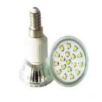 Buy cheap Led JDR SMD2835 E27 reflector led spotlight E14 glass cup from wholesalers