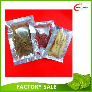 China Al Foil 3 Side Heat Seal Plastic Vacuum Food Storage Bags 0.08mm / 0.10mm on sale