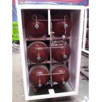 Buy cheap 50L - 200L Type 2 Glass Fiber CNG Storage Tanks For Compressed Natural Gas Stations product