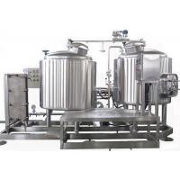 Buy cheap Semi Auto Control 7BBL Pub Brewing Systems SUS304 Steam Heating For Pub / Restaurant from wholesalers