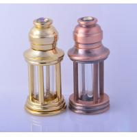 Buy cheap 3ml Alloy Retro Style perfume dropper bottle essential oil glass roll on bottle product