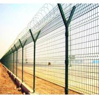 Buy cheap galvanized fence top spikes prison safety fence from wholesalers