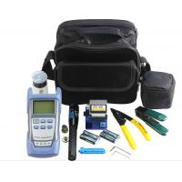 Buy cheap FTTH Fiber Optic Tool Kit , Fiber Testing Tools With OPM VFL And Fiber Cleaver from wholesalers
