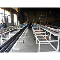 Buy cheap good quality reasonable pirce round flat prestressed bridge concrete pe hdpe pipe machine from wholesalers