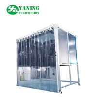 Buy cheap PMMA Hardwall Pharmaceutical Weighing Booth With Anti - Static Curtain Door from wholesalers